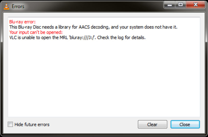 How To: Fix VLC unable to open MRL \u2013 Blu-ray needs AACS library